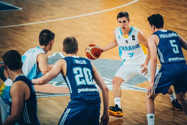 Україна U-18 програла Фінляндії на ЄвроБаскеті-2017