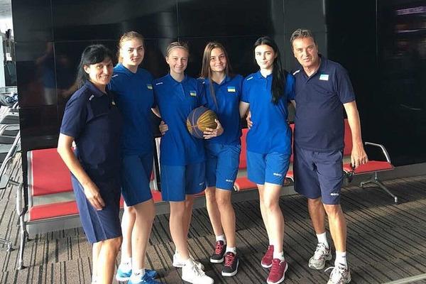 Жіноча збірна України U-18 вийшла на чемпіонат Європи 3х3