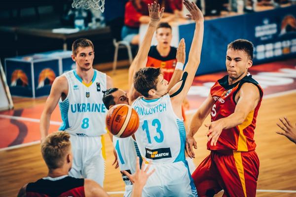 Чоловіча збірна України U-18 завершила виступи на чемпіонаті Європи