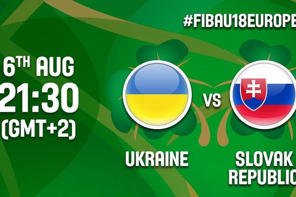 Україна – Словаччина - 57:64: відео матчу чемпіонату Європи