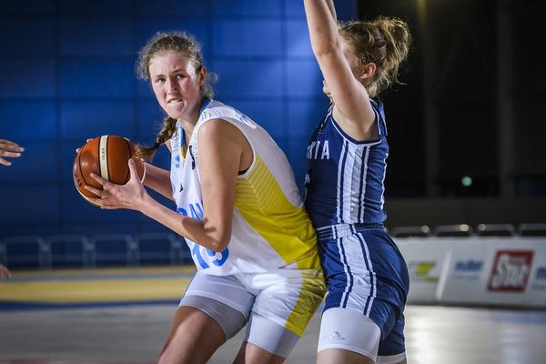 Жіноча збірна поступилася Словаччині у третьому матчі Євробаскету U-18