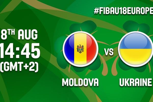 Молдова – Україна - 55:101: відео матчу чемпіонату Європи