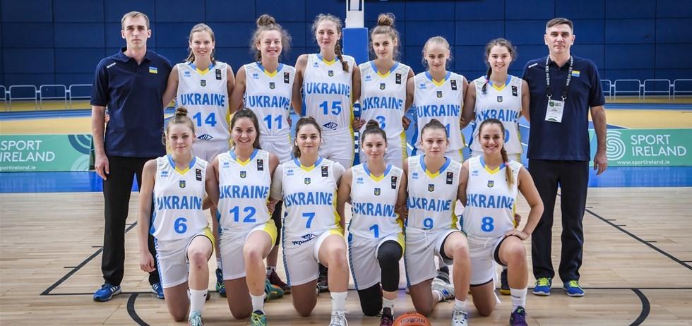 Жіноча збірна України U-18 програла господаркам чемпіонату