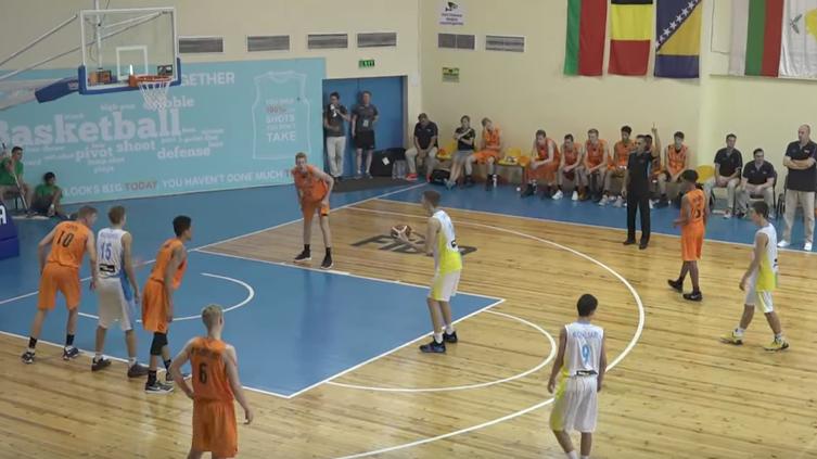 Україна U-16 програла перший матч на ЄвроБаскеті-2017