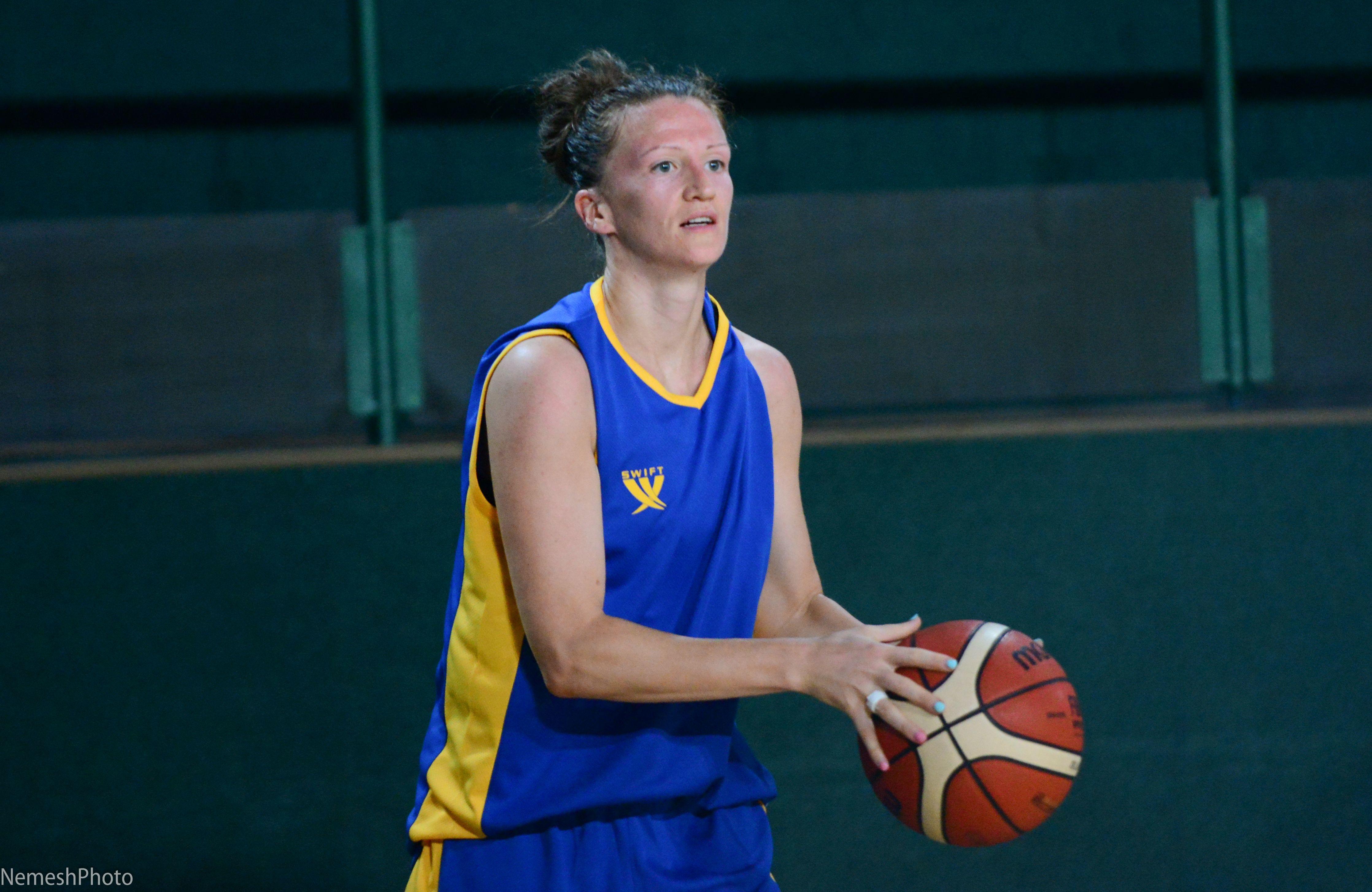 Ольга Дубровіна: хочу грати у збірній України