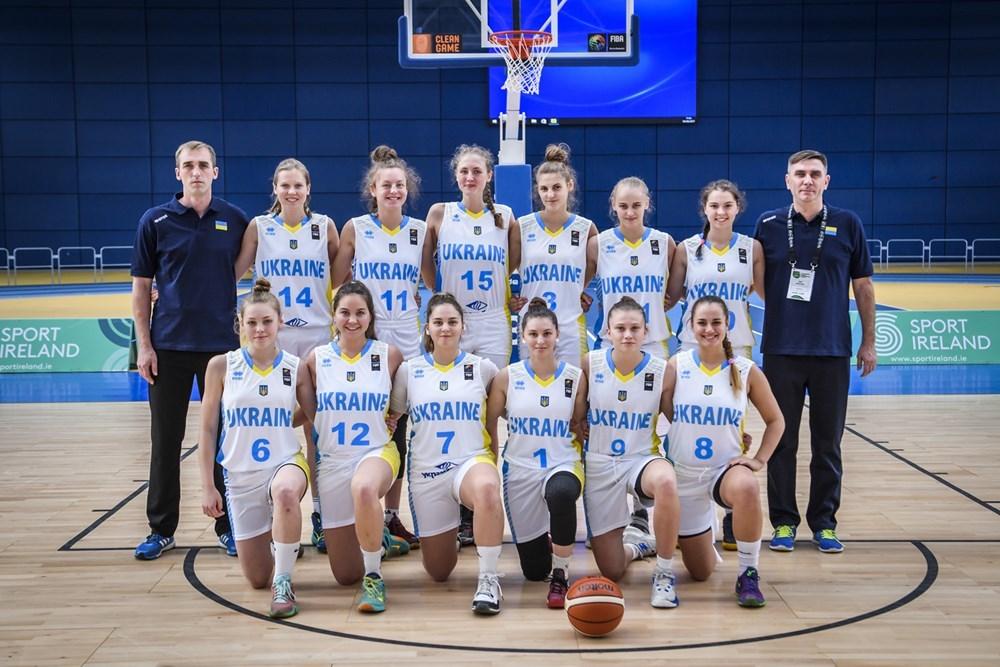Жіноча збірна України U-18 обіграла Австрію на ЄвроБаскеті-2017