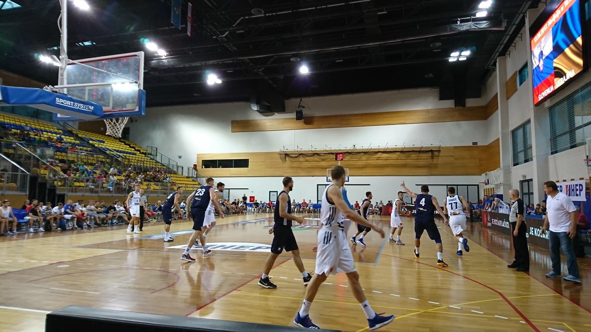 Україна поступилась Словенії на турнірі у Хорватії