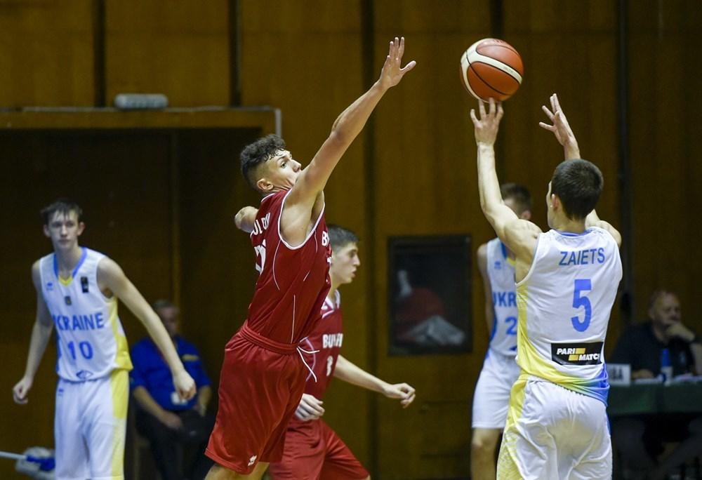 Збірна України U-16 розгромила Данію в останньому матчі групового раунду ЄвроБаскету-2017