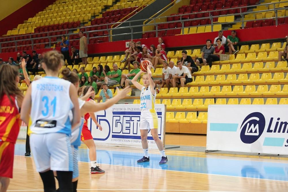 Жіноча збірна України U-16 поступилась Бельгії