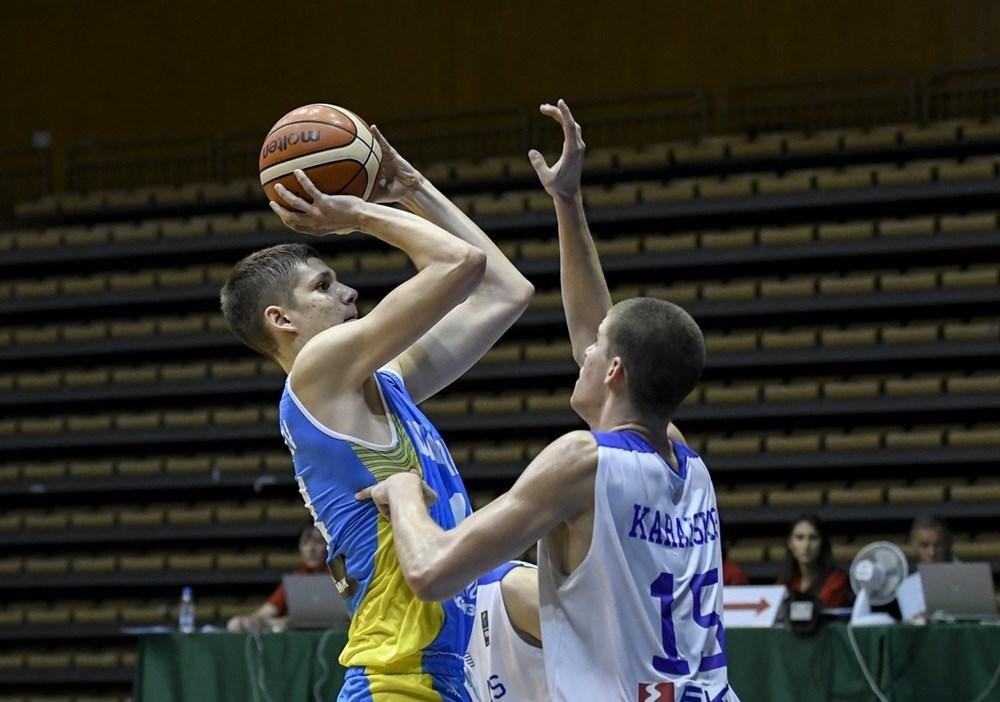 Чоловіча збірна України U-16 зайняла 5 місце на Євробаскеті
