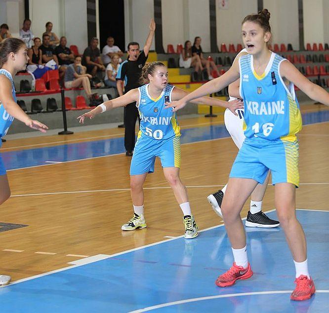 Жіноча збірна України U-16 пропустила лише 17 очок у матчі чемпіонату Європи