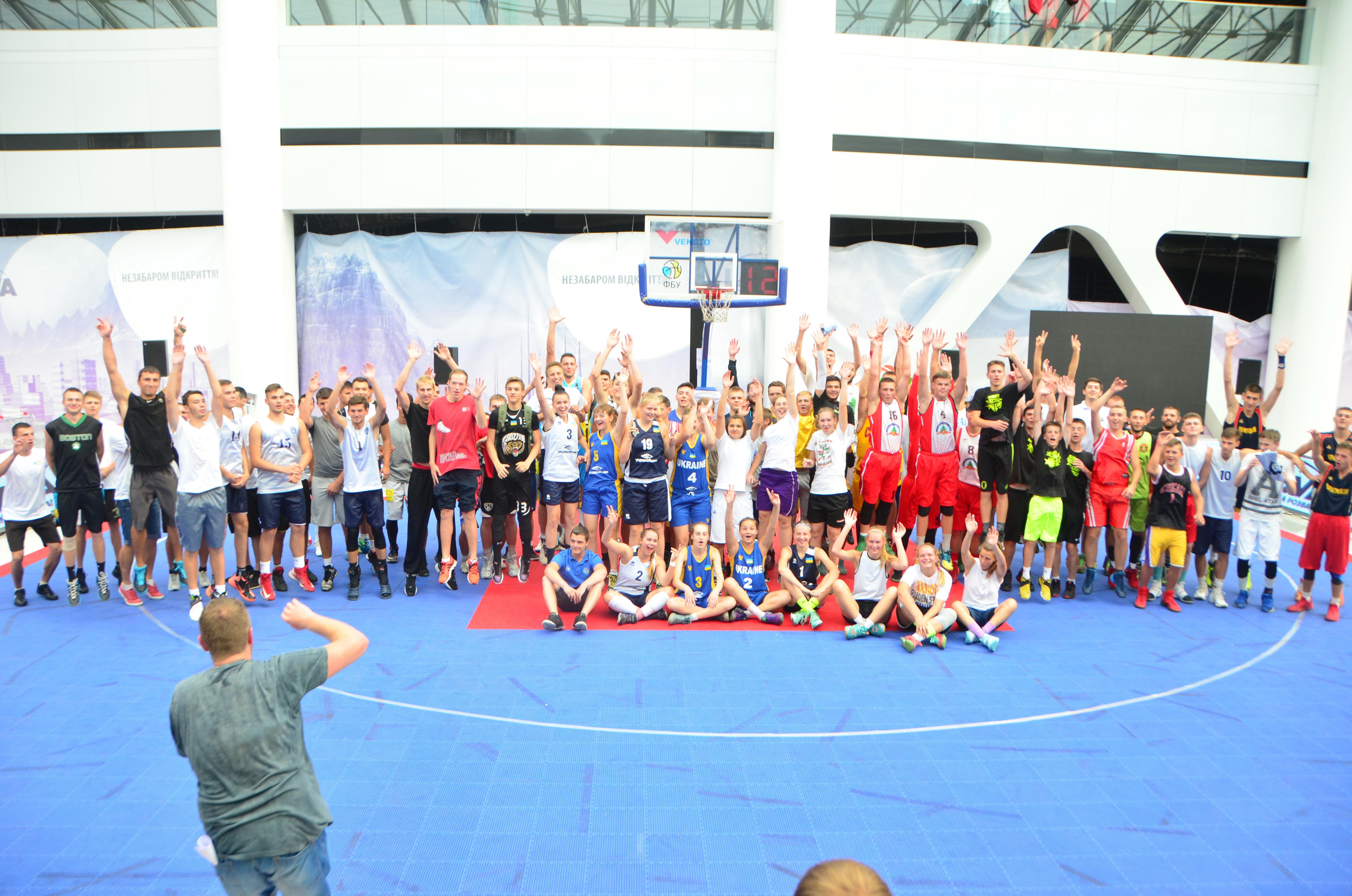У Києві стартував Фінал Чемпіонату України з баскетболу 3х3 Lavina Final