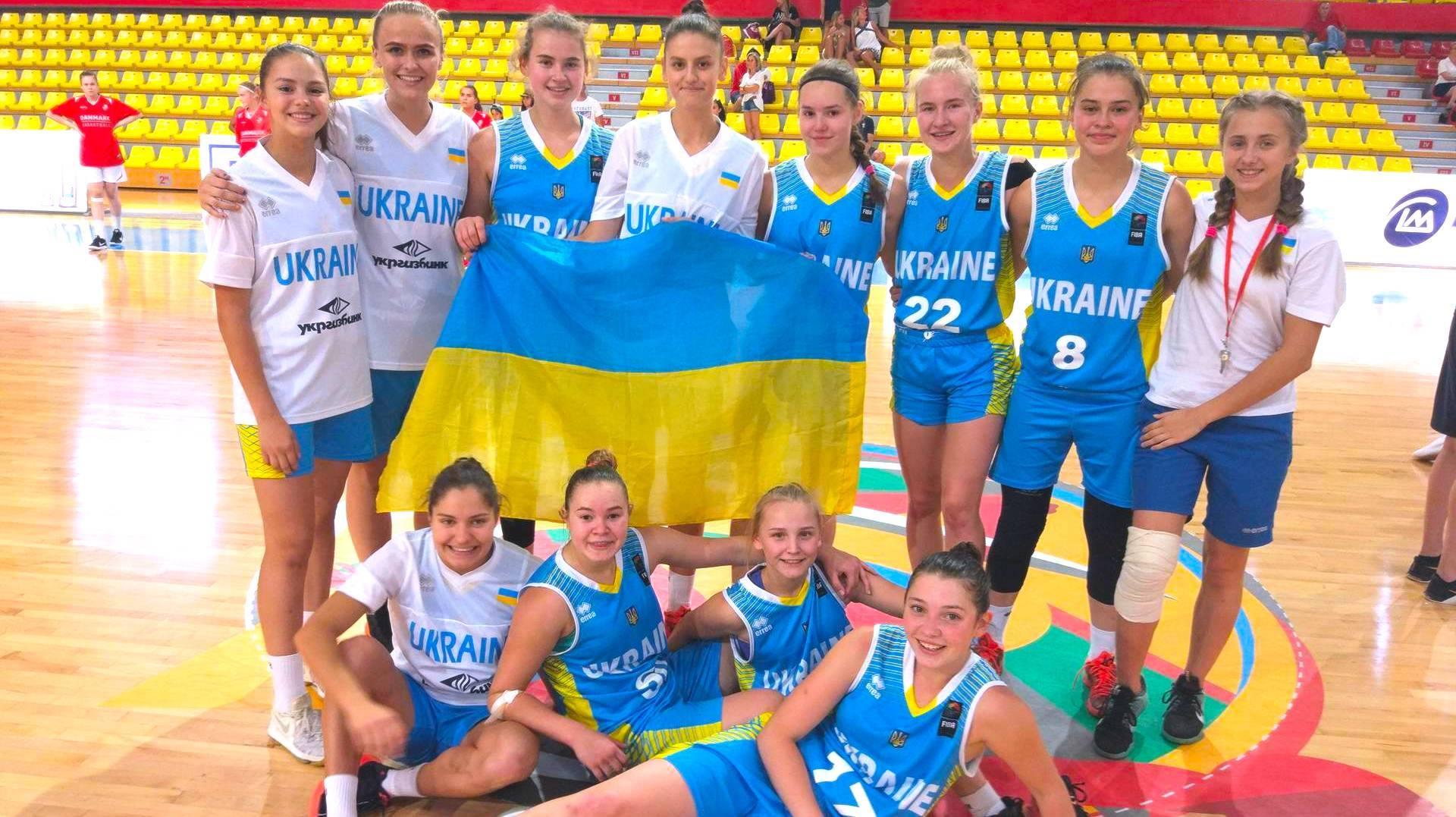 Жіноча збірна України U-16 зіграє у півфіналі Євробаскету-2017