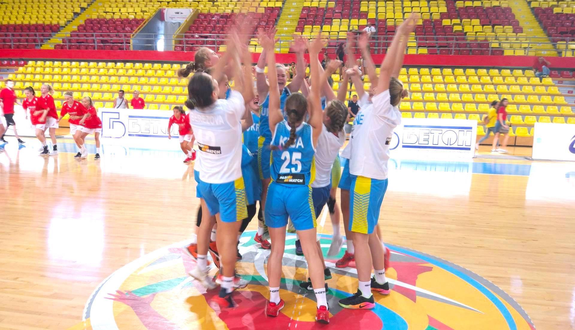 Жіноча збірна України U-16: за крок від підвищення у класі