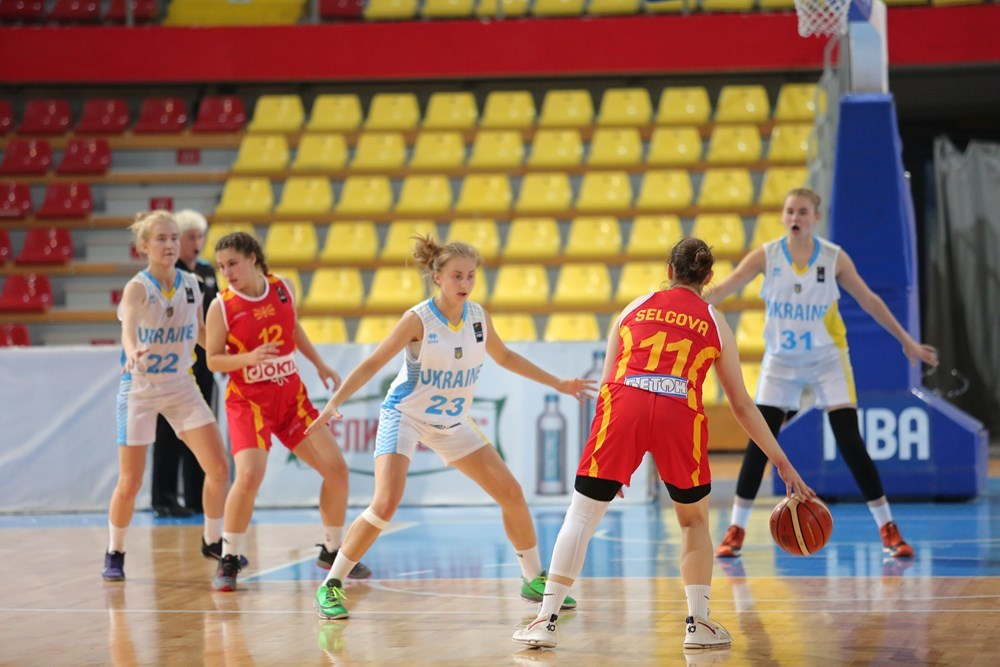 Жіноча збірна України U-16 зіграє за бронзу Євробаскету