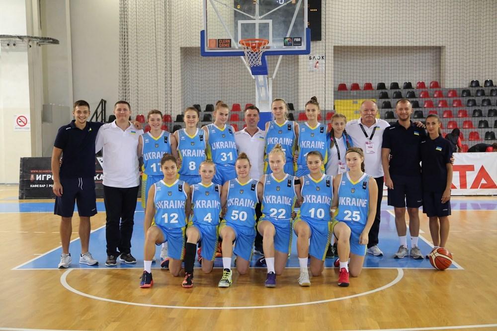 Україна U-16 зіграє з Грецією за бронзу Євробаскету