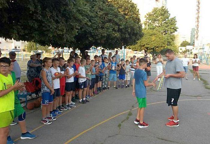 У Черкасах відбулося свято для найменших баскетболістів