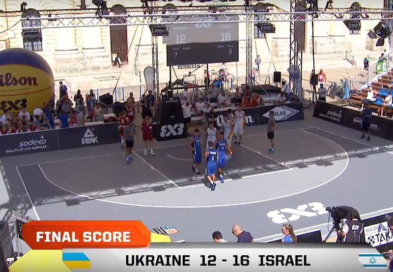 Україна з втратами стартувала на молодіжному чемпіонаті Європи 3х3