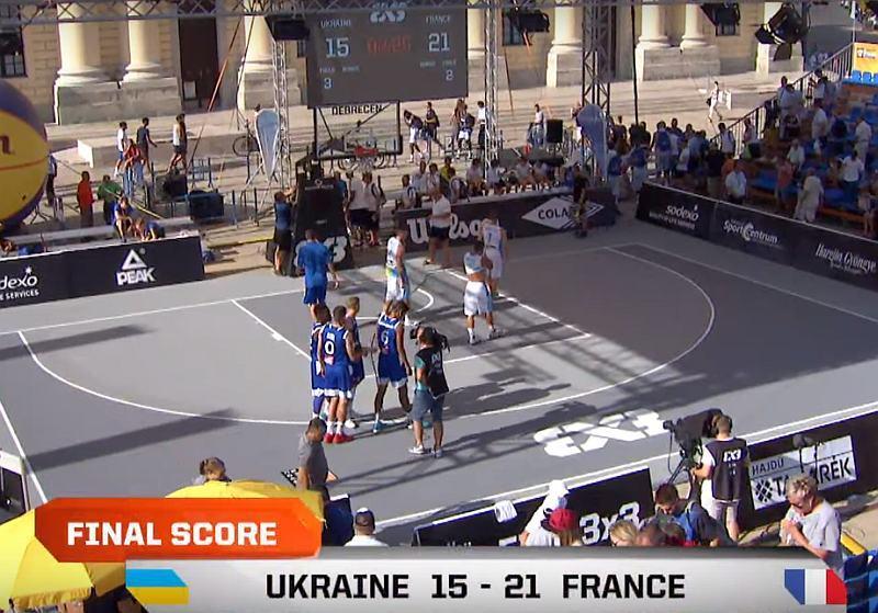 Україна вдруге програла на U-18 чемпіонаті Європи 3х3