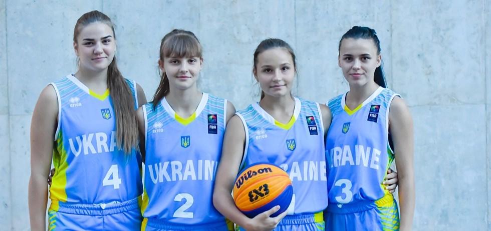 Жіноча збірна України 3х3 U-18 стартує на Чемпіонаті Європи