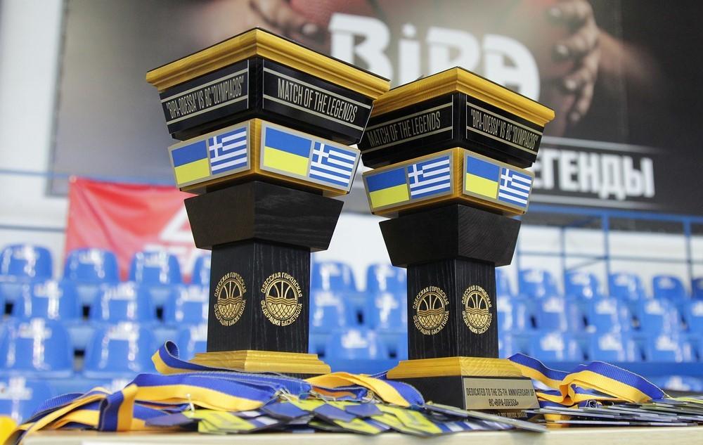 Одеські ветерани перемогли легенд Олімпіакоса