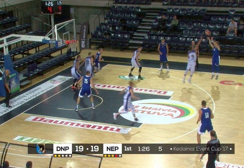 Дніпро вдруге зіграв у Литві