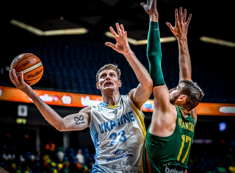 Збірна України програла Литві на чемпіонаті Європи