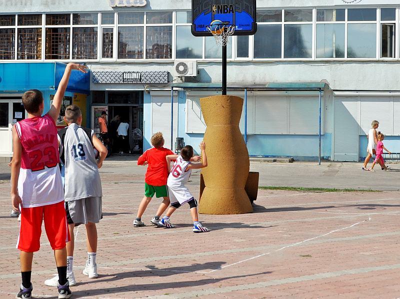У Шостці відбувся турнір з баскетболу 3х3
