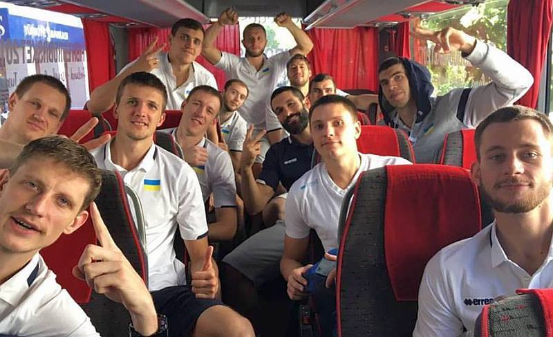 Збірна України повернулася додому з чемпіонату Європи