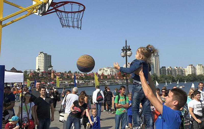 У Києві пройшов Олімпійський урок