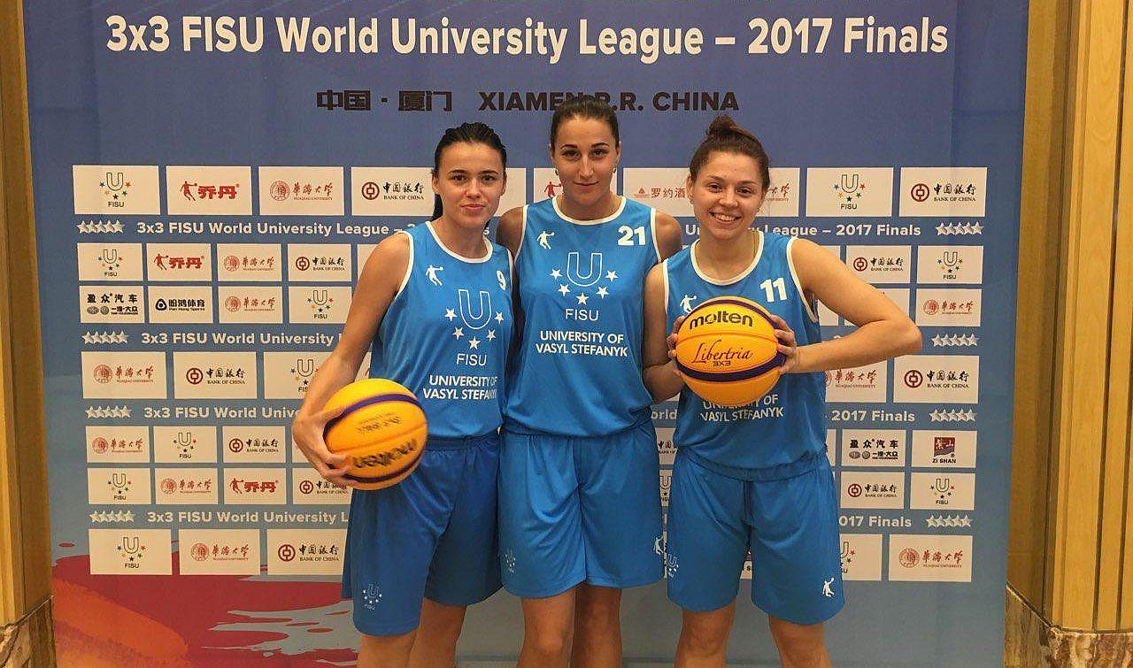 Світова Студентська Ліга 3х3: дві перемоги українок