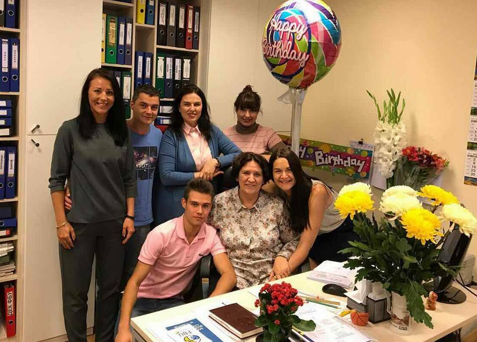 Вітаємо Ларису Шабанову з днем народження