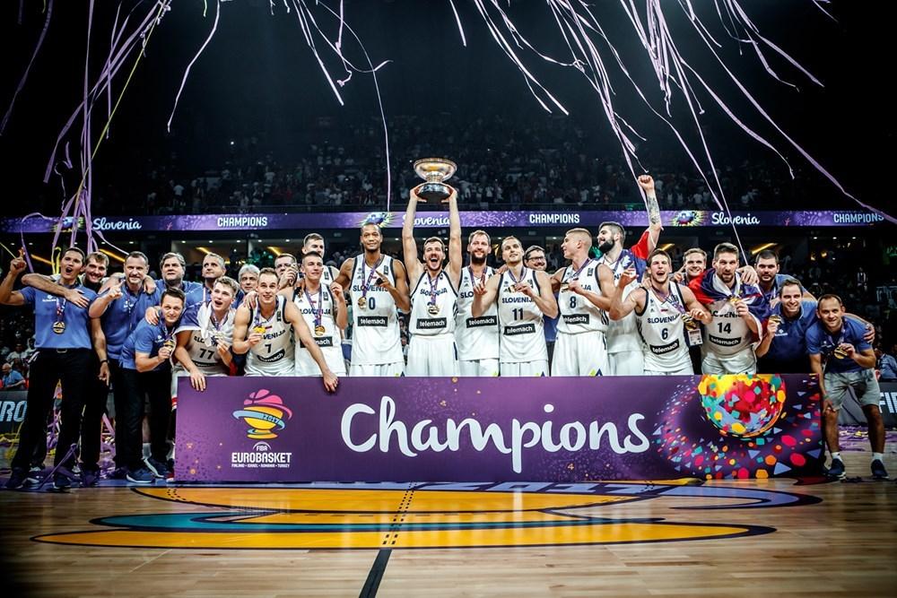 ЄвроБаскет-2017: фото нагородження чемпіонів та призерів