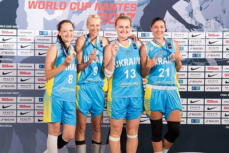 Україна зберігає позиції в рейтинзі баскетболу 3х3