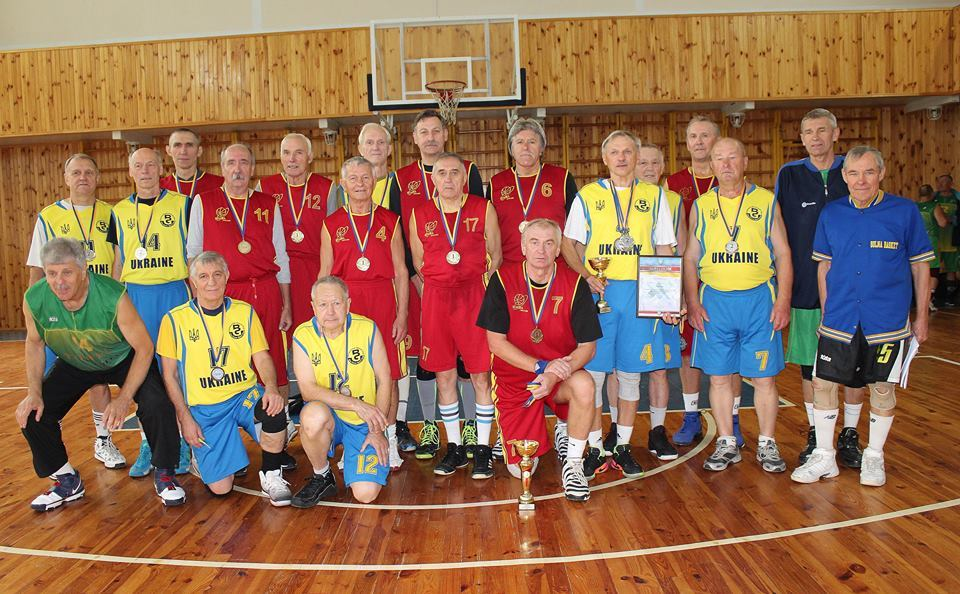У Житомирі відбувся турнір ветеранів