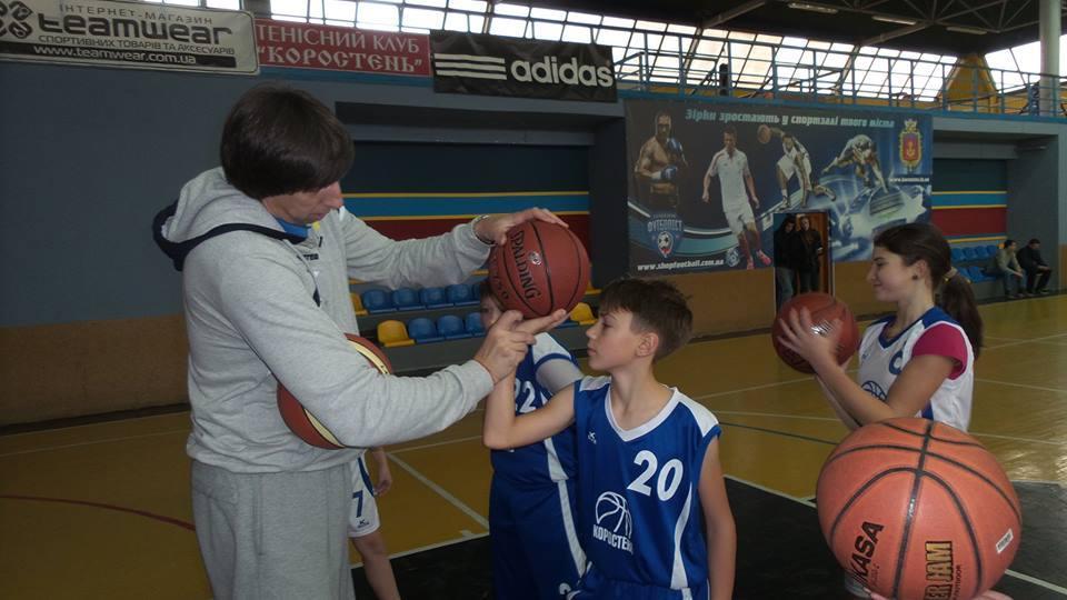 Майстер-клас від тренера збірної України в Коростені: фотогалерея