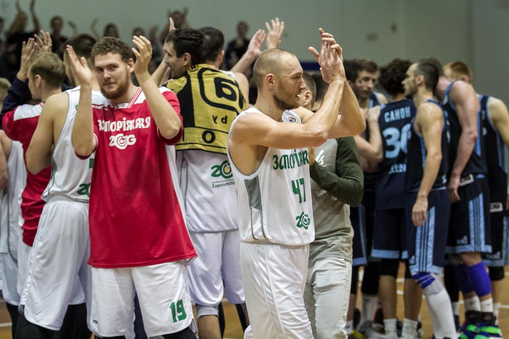 Тріумфальний баскетбольний уік-енд у Запоріжжі