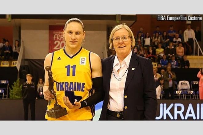 Аліна Ягупова у десятці найкращих баскетболісток Європи