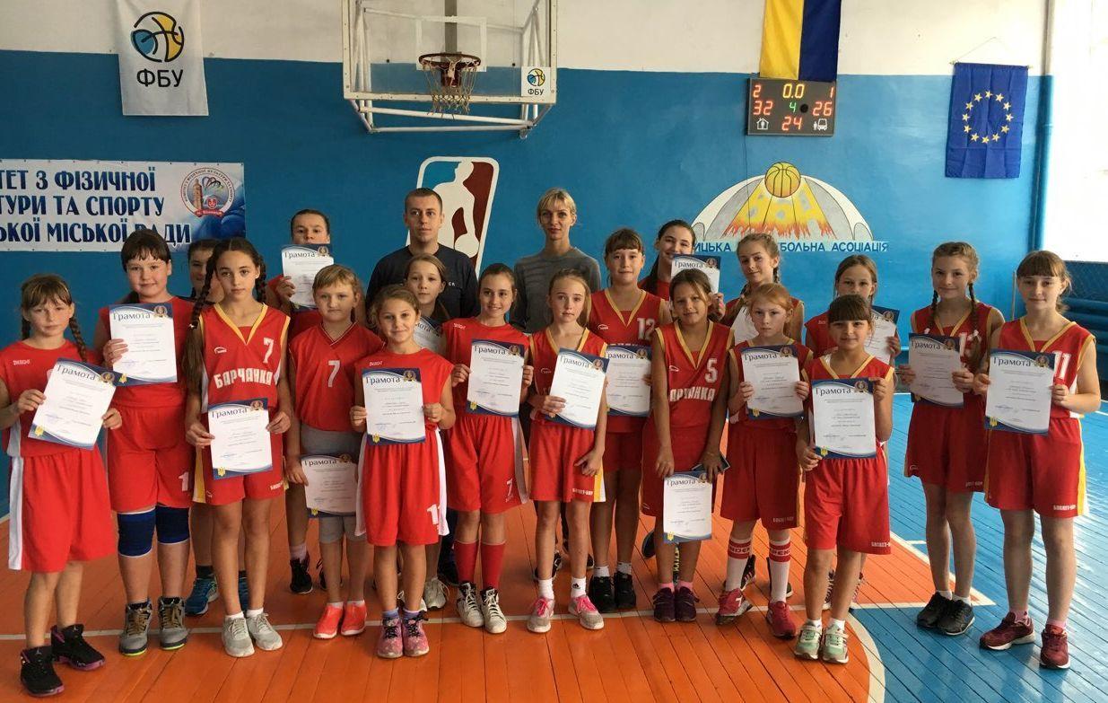 ВЮБЛ (дівчата-2005,2006): Вінниця-1 двічі перша