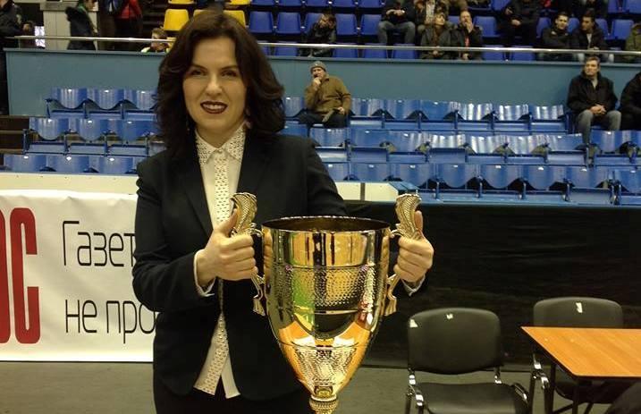 Ніна Волинець: мета ВЮБЛ – навчити дітей грі у баскетбол, оселити в їхніх серцях на все життя любов до спорту
