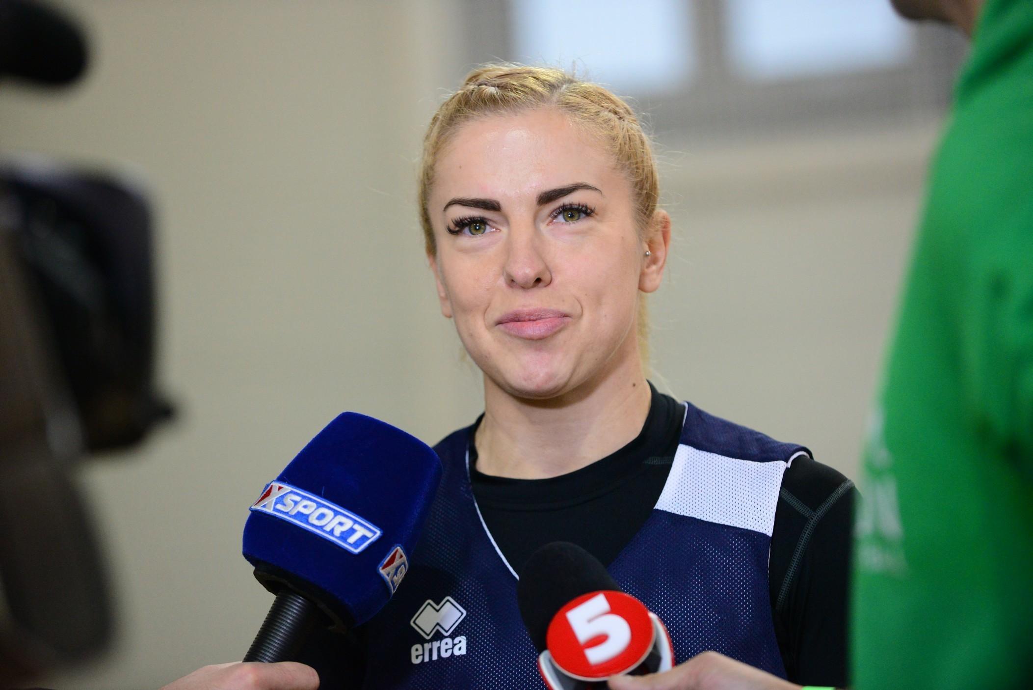 Аріна Білоцерківська: перед грою тренер нам сказав багато хороших слів