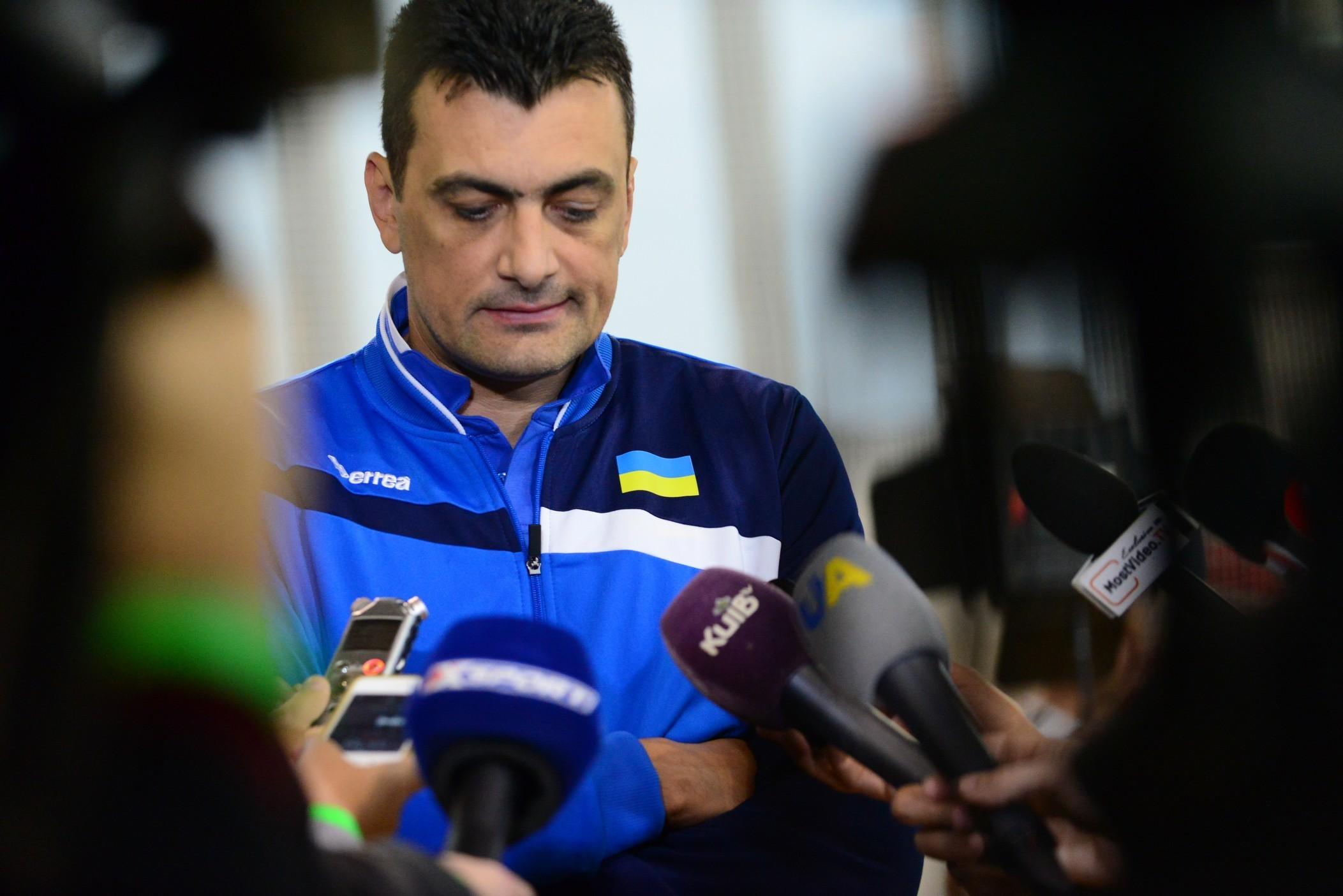 Жіноча збірна України запрошує журналістів на прес-конференцію