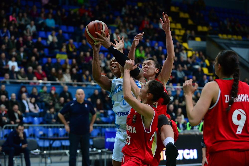 Жіноча збірна України розгромила Болгарію у відборі на ЄвроБаскет-2019