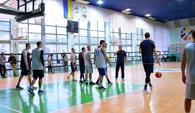 Як збірна України тренування перед відбором на чемпіонат світу: фотогалерея