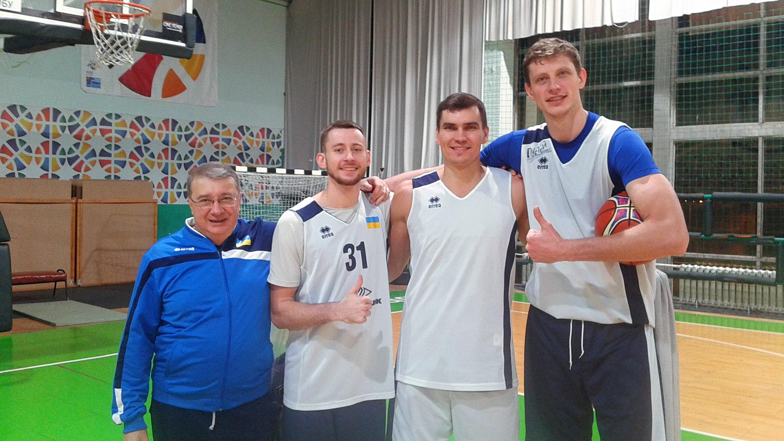 Максим Пустозвонов провів перше тренування зі збірною України