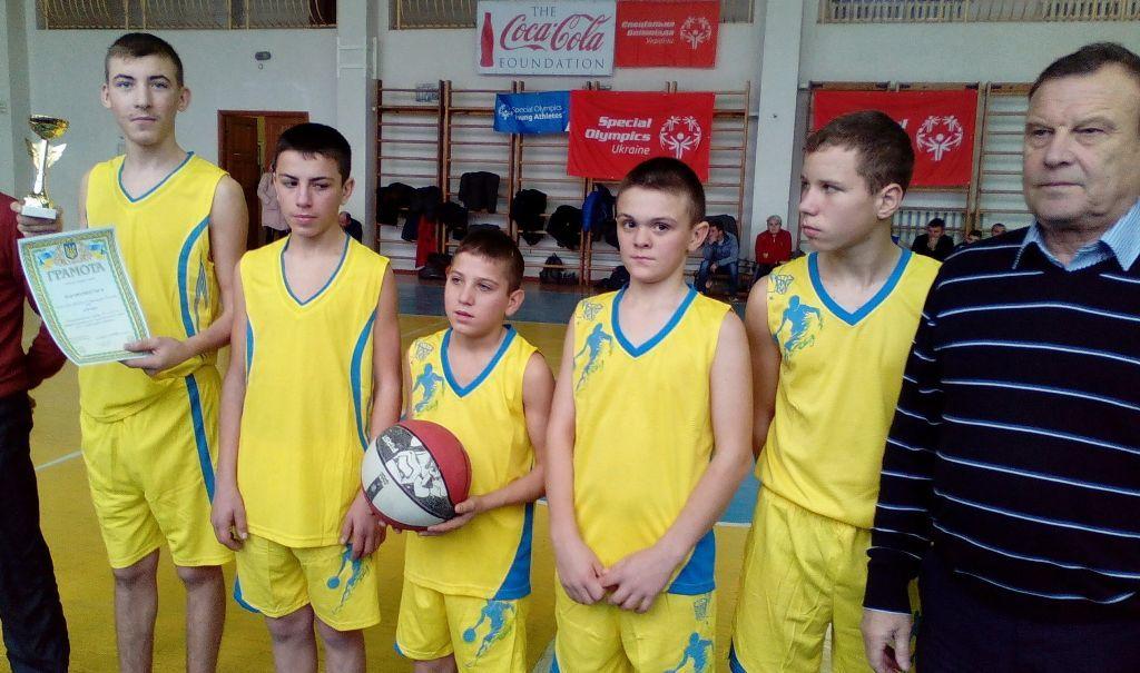 Всеукраїнські змагання СОУ в рамках Європейського баскетбольного тижня Спеціальної Олімпіади Європи/Євразії
