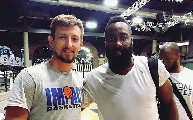 Микола Кірсанов – українець в структурі НБА