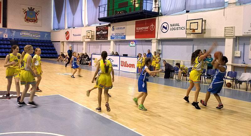 Результати ВЮБЛ (дівчата 2005) дивізіону Б в Миколаєві