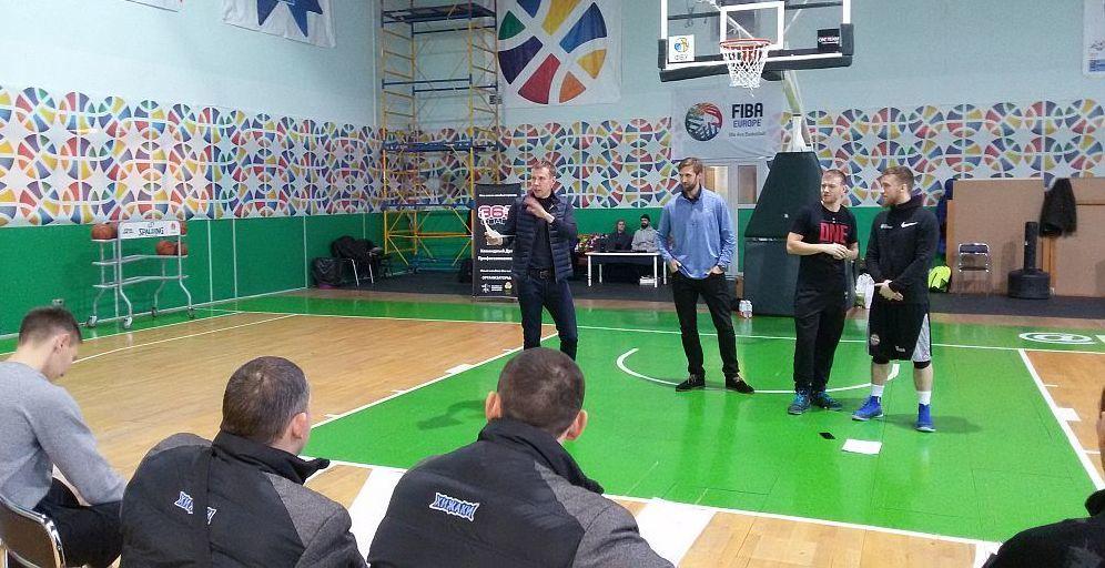 Тренерський семінар у Києві: дві сесії від Каспера