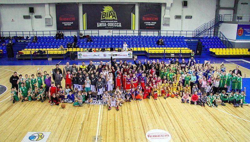 У Одесі відбувся дитячий новорічний фестиваль баскетболу